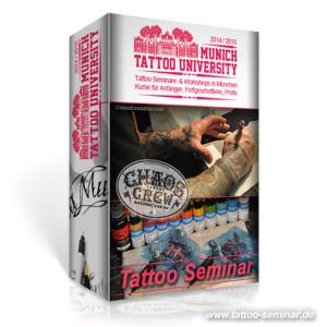 Tattoo Seminare in München | Hier buchen! Teilnahme limitiert